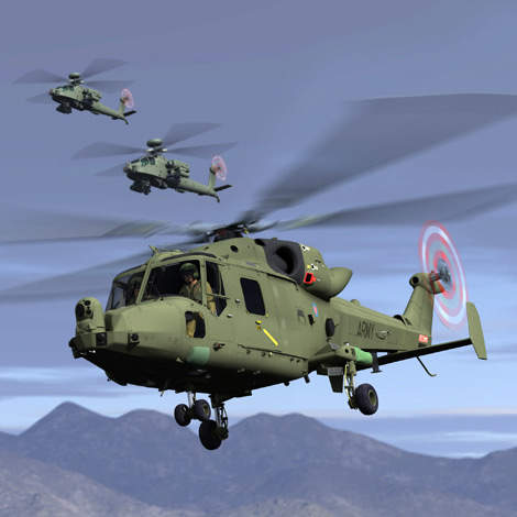 The AW159 Lynx Wildcat will be the British Army's new battlefield reconnaissance helicopter (BRH), formerly the battlefield light utility helicopter (BLUH).