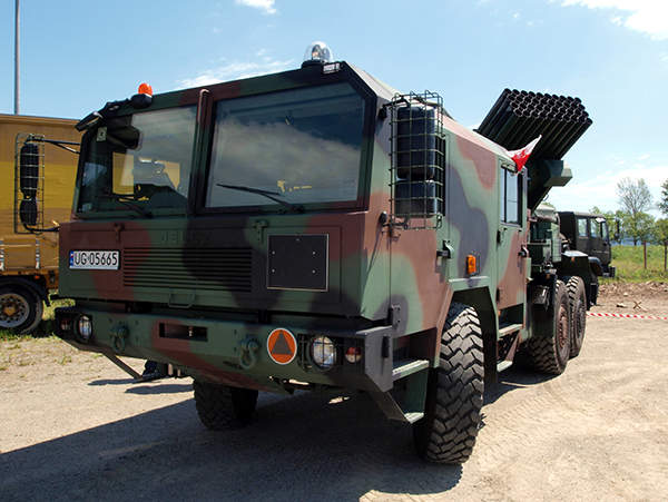 Langusta WR-40 is a multiple launch rocket system (MLRS) in service with the Polish Army.