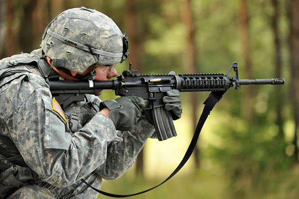 colt m4 carbine army technology