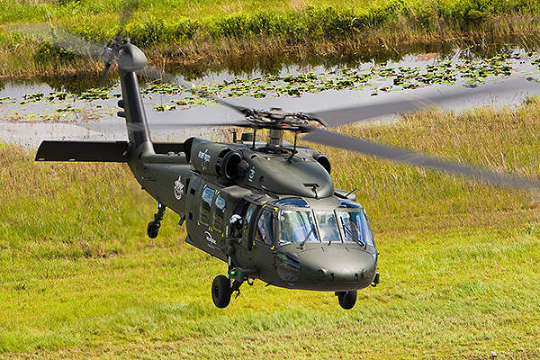 The S-70i Black Hawk multimission helicopter is the latest variant of the Black Hawk family. Credit: Sikorsky Aircraft Corporation.