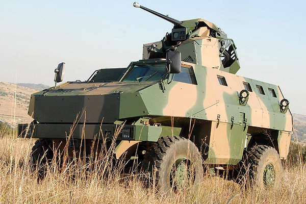 RG34 is a 4x4 multi-purpose mine protected vehicle (MPMPV). Image courtesy of BAE Systems.