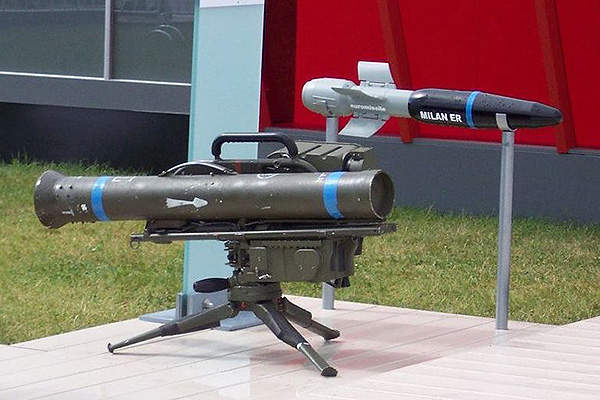 The MILAN ER missile system can engage targets within an extended range of 3km. Image courtesy of Stahlkocher.