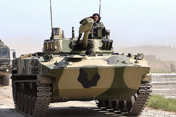 BMD-4M is the modernised variant of BMD-4 airborne combat vehicle. Image courtesy of Vitaly V. Kuzmin.