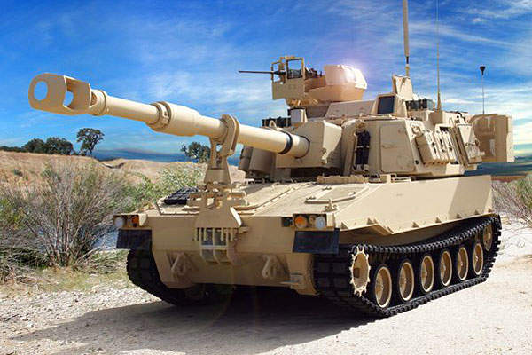 Paladin M109A7 is a next-generation artillery system being built by BAE Systems for the US Army. Image courtesy of U.S. Army.
