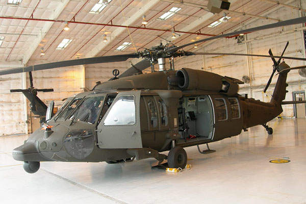 The UH-60M is a modernised version of the UH-60 Black Hawk helicopter. Image courtesy of U.S. Army.