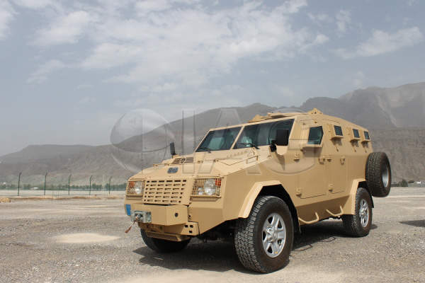 The Jaws Armoured Personnel Carrier (APC) is manufactured by International Armored Group (IAG). Image courtesy of International Armored Group (IAG).