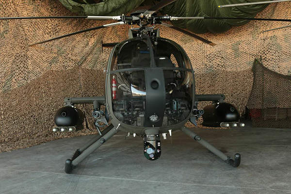 The MD 530G armed scout attack helicopter is being developed by MD Helicopters. Image courtesy of MD Helicopters, Inc.
