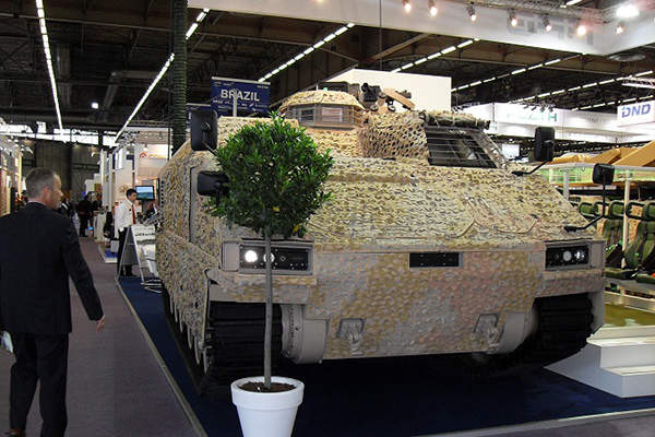 Protected Mission Module Carrier (PMMC) G5 tracked armoured personnel carrier is designed by Flensburger Fahrzeugbau Gesellschaft (FFG). Image courtesy of Flensburger Fahrzeugbau Gesellschaft MBH.