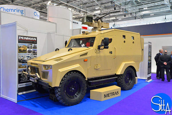 The 4x4 Metras MRV is primarily used for troop transport. Image: courtesy of Ministère de la Défense.