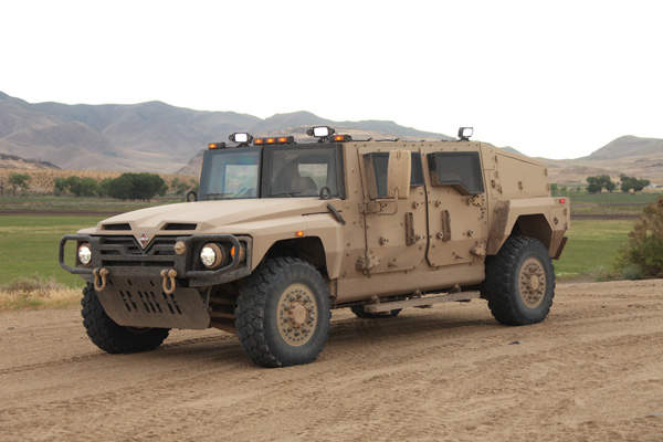 The International Saratoga is a light tactical vehicle manufactured by the Navistar Defense. Image courtesy of Navistar Defense.