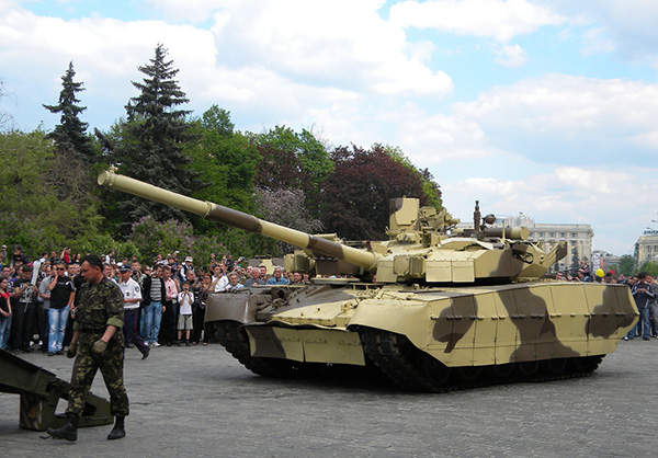 The Oplot-M Main Battle Tank (MBT) is in service with the Ukrainian Armed Forces. Image courtesy of Victor Dashkiyeff.