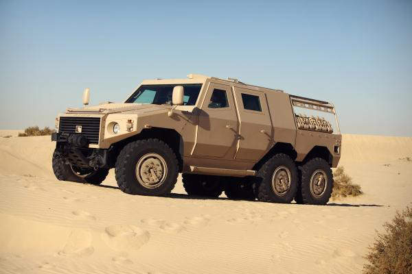 The NIMR wheeled armoured vehicle is produced by NIMR Automotive for the UAE Armed Forces.
