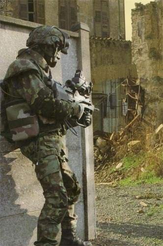 French Army FELIN Future Infantry Soldier System