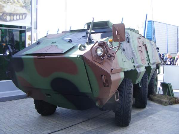 IRBIS is a 6x6 wheeled armoured personnel carrier (WAPC) designed for patrol and reconnaissance missions. Image courtesy of Spike78.