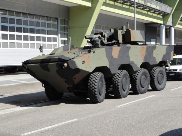 The Superav is an amphibious armoured personnel carrier (APC) developed by Iveco Defence Vehicles. Image courtesy of Mattes.