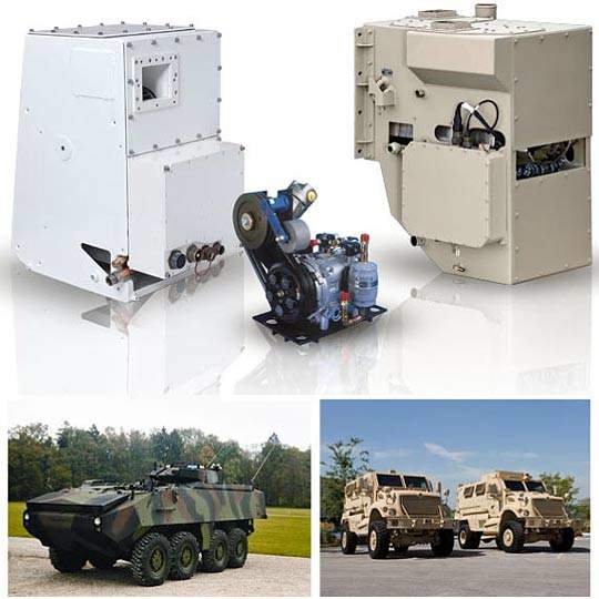 Military vehicle heating and ventilation systems from Kinetics