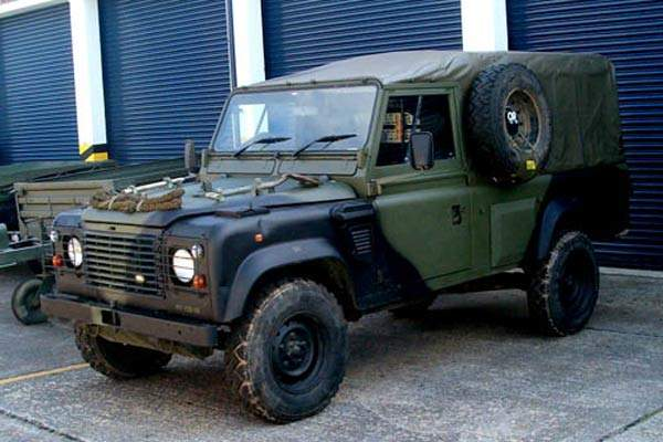 The Land Rover Wolf (Wheel On Left-hand Facing).