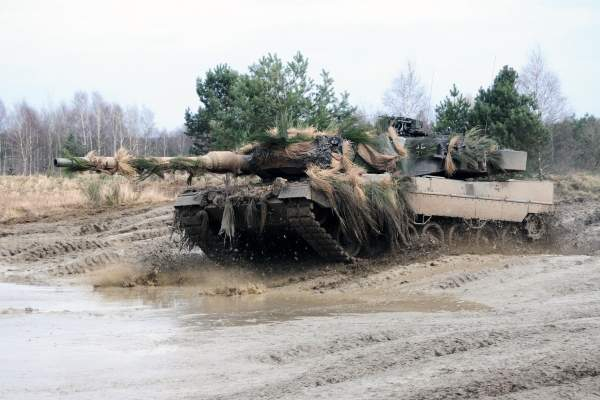 The Leopard 2 is a main battle tank developed by Krauss-Maffei, and successor to the successful Leopard 1.