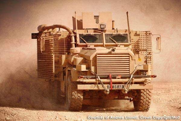 The Mastiff 2 is the newest addition to the British armed forces' range of patrol vehicles.