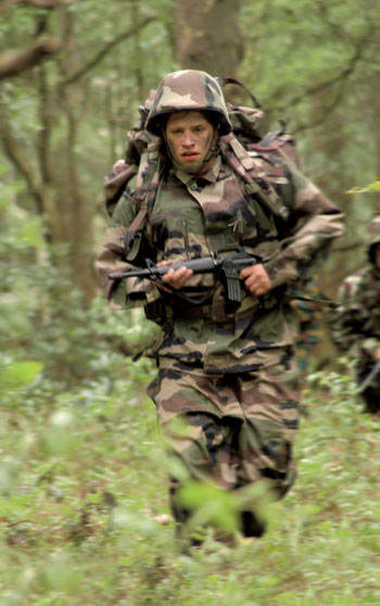 Soldier training using SEYNTEX products