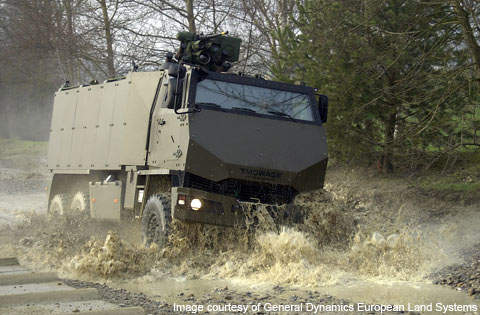 Duro is an all-terrain tactical vehicle used for a wide range of military purposes.