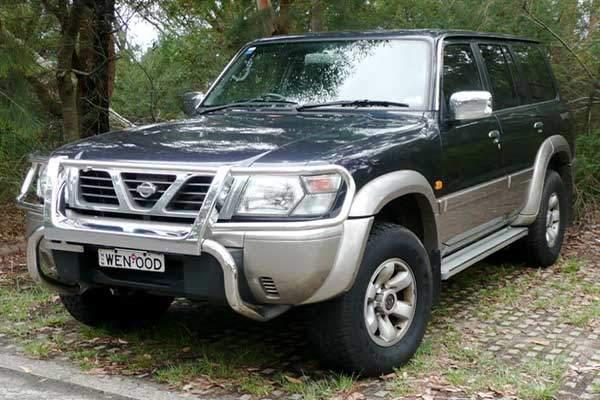 Nissan Patrol vehicle