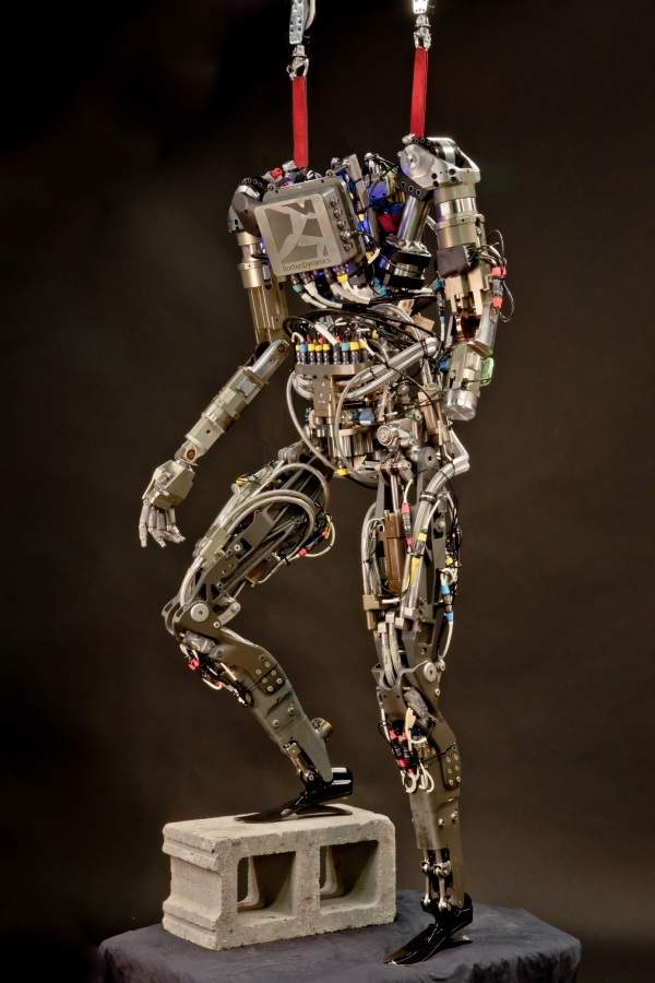 Petman has been billed as the world's first anthropomorphic robot to move as dynamically as a real person - Petman image courtesy of Boston Dynamics.