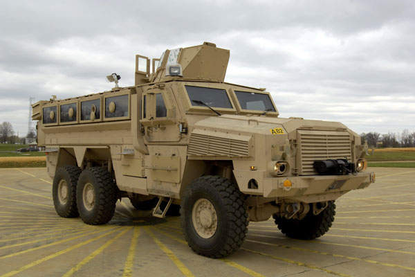 BAE Systems designed RG33 6×6 Mine-Resistant Ambush Vehicle