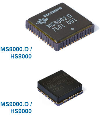 Image of variable capacitance sensors developed by Colibrys