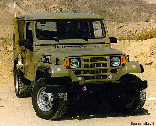 Storm 3 is a multi-role vehicle created by Automotive Industries Ltd for the Israel Defence Forces.