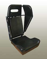Military vehicle crew seating option