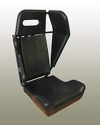 Military vehicle crew seating option