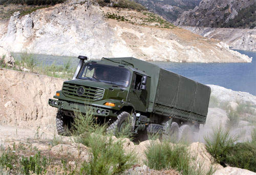 Mercedes-Benz Military Vehicles which are Adapted to Handle Extreme Conditions
