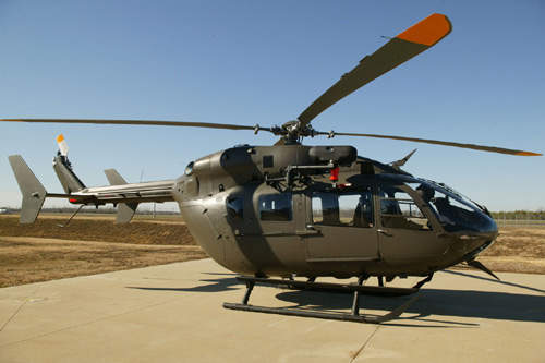 The UH-72A Lakota is the United States Army's new light utility helicopter.