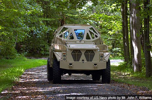The Ultra armoured patrol vehicle development is a research project funded by the Office of Naval Research (ONR), at the Georgia Technology Research Institute.