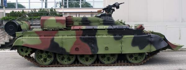 The Serbian Armed Forces VIU-55 Munja is a combat engineering vehicle. It has been designed by the Serbian Military Technical Institute. Image courtesy of Kos93.