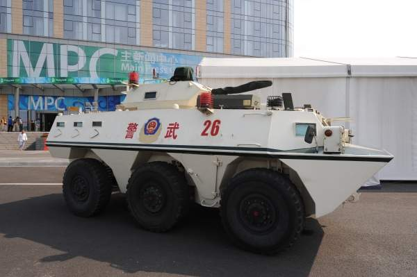 The WZ551 family of wheeled armoured vehicles were developed by Norinco for the light mechanised infantry units of People's Liberation Army Ground Force. Image courtesy of inkiboo.