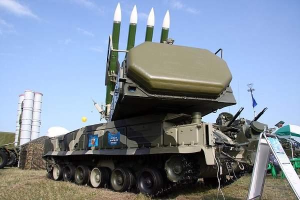 Buk-M2E is a medium-range advanced defence missile complex (ADMC). Image courtesy of Vitaly V. Kuzmin.
