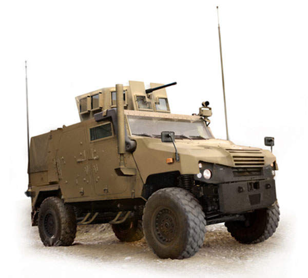 JLTV Eagle is being offered for the JLTV programme of the US Army and Marine Corps.