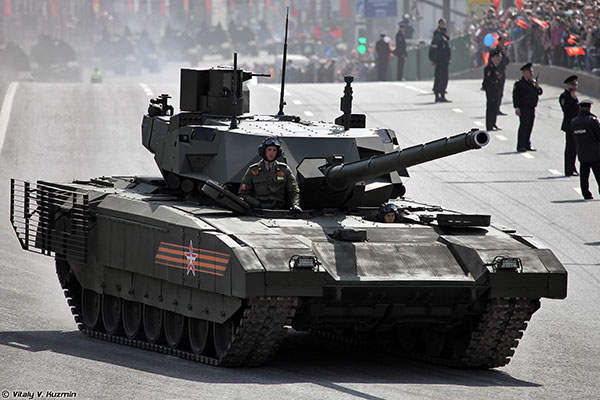 T-14 Armata main battle tank during the 2015 Moscow Victory Day Parade. Image courtesy of Vitaly V. Kuzmin.