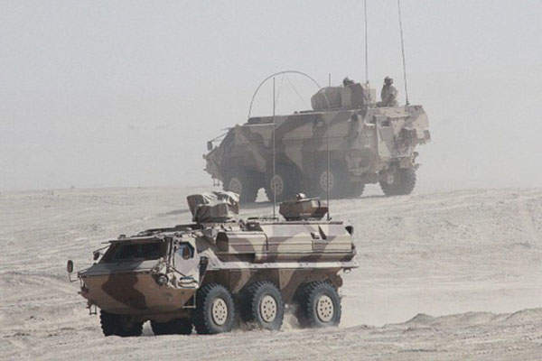The Fuchs 2 NBC-RS entered service with the UAE Armed Forces in February 2007. Image: courtesy of Rheinmetall AG.