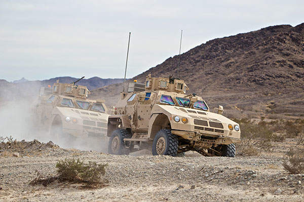 The Valanx family of vehicles from the BAE Systems-led team is one of the six contenders for the Joint Light Tactical Vehicle (JLTV) programme.