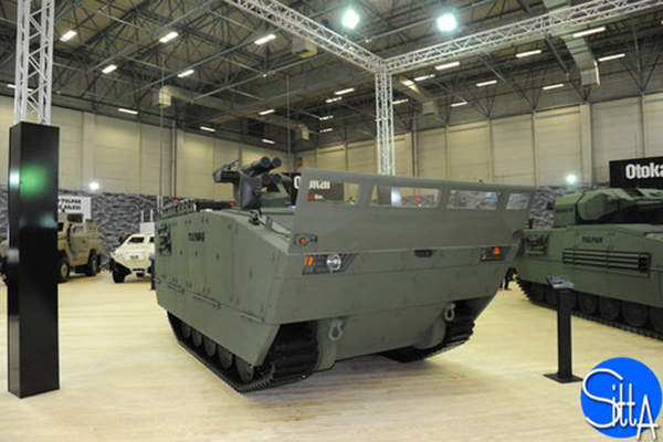 The new-generation Tulpar-S armoured combat vehicle was unveiled at the IDEF 2015 exhibition. Image: courtesy of Ministère de la Défense.
