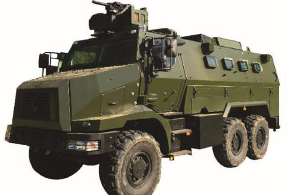 Peacekeeper Protected Response Vehicle (PRV) will replace V200 armoured vehicles of the Singapore Armed Forces (SAF). Image: courtesy of Defence Science and Technology Agency.