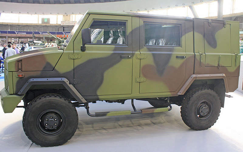 Zastava NTV 40.13 H 4x4 off-road vehicle is built by Zastava Trucks for the Serbian Army. Image courtesy of Srđan Popović.