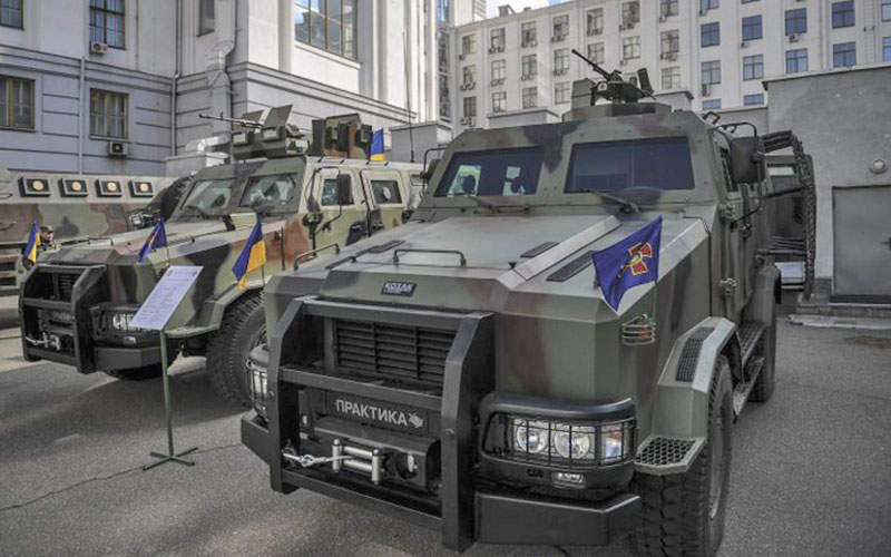 Practika developed two versions of the Kozak multi-purpose armoured vehicle. Image courtesy of NPO Practika.
