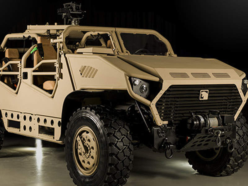 AJBAN SOV is a new 4x4 reconnaissance vehicle intended for special operations. Image courtesy of NIMR AUTOMOTIVE LLC.