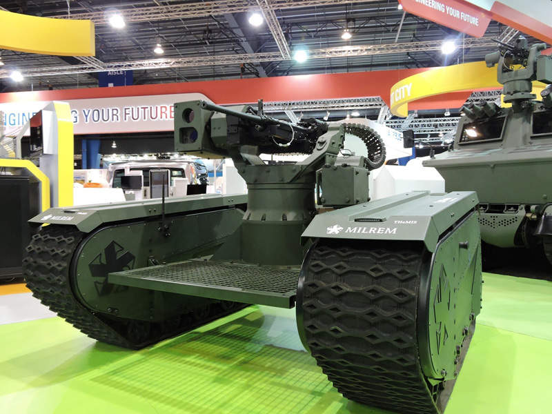 THeMIS unmanned ground vehicle is being developed by Milrem. Photo: Business Wire.