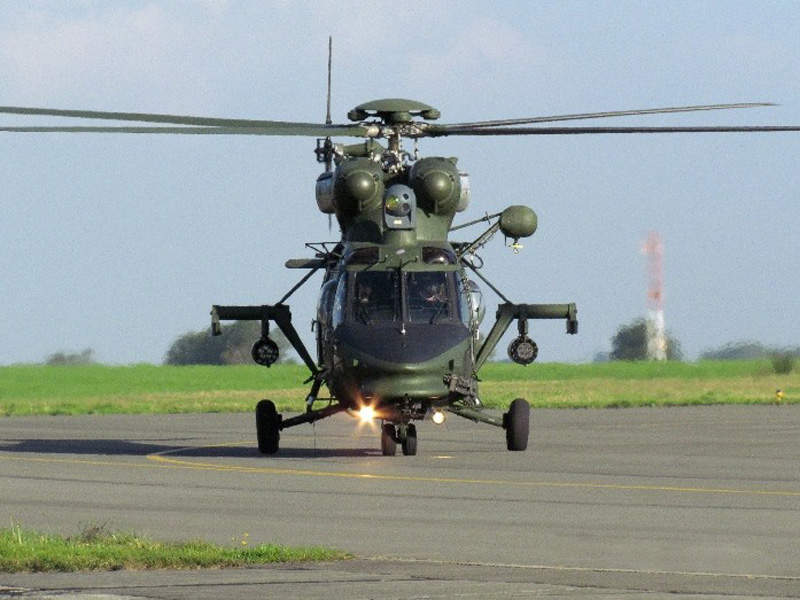 W-3PL Głuszec is a multi-role, combat variant of W-3 Sokół. Image courtesy of AgustaWestland.