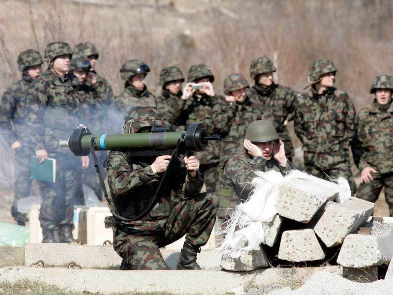 RGW 90 weapon system has been in service with the Slovenian Armed Forces since 2008. Image courtesy of MORS.